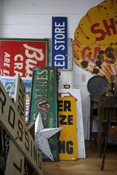 #vintage signs