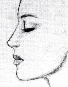 Profile Drawing #drawingideas