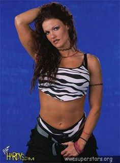 Favorite WWE Superstars Lita is one of Divas in WWF or WWE whom i like the most. She does a lot of high flying moves and she joined with Hardy Boyz and together they built a team called Team Extreme. Wrestling Stars, Wrestling Divas, Litas Outfit, Sable Wwe, Wwe Lita, Wwe Trish, The Hardy Boyz, Jeff Hardy, Wwe Outfits