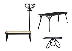 Thonet es una marca icónica en el diseño más que nada por el uso de la madera domada. No es raro que hagan interpretaciones del trabajo que ha hecho Thonet desde sus inicios, y en este caso, el grupo sueco de diseño Front, reinterpretó a Thonet con resultados que se vieron en la Feria de Milán.