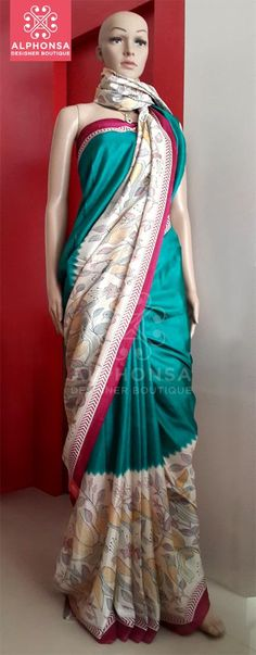 SEMI TUSSER SAREE