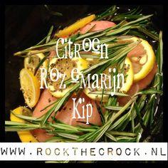 Slowcooker Citroen Rozemarijn Kip | Rock the crock