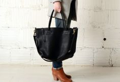 By Forestbound, $320. Unlined cow leather, made in MA