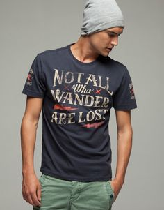 Not all who wander are lost by Studio Muti (May be a guys shirt, but I'd still wear it)