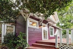 1906 small everett house. 3902 Friday avenue. love the color