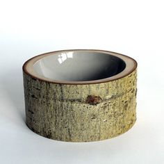 Log Bowl Large Light Gray, $193, now featured on Fab.