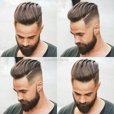 Men's Toupee Human Hair Hairpieces for Men inch Thin Skin Hair Replacement System Monofilament Net Base ( Cool Hairstyles For Men, Haircuts For Men, 2018 Haircuts, Barber Haircuts, Classic Hairstyles, Undercut Hairstyles, Hairstyles Haircuts, Men Undercut, Disconnected Undercut Men
