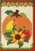 Beaded Banner Kit, Harvest Pumpkin #7310
