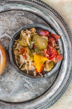 Sałatka gyros na zimę - Katarzyna Rzepecka Ethnic Recipes, Food, Meal, Essen, Hoods, Meals, Eten