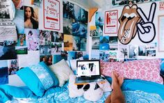 33 Simple Interior Modern Style Ideas That Make Your Place Look Cool Dorm Room I. 33 Simple Interior Modern Style Ideas That Make Your Place Look Cool Dorm Room Ideas Cool Ideas Int Interior Modern, Simple Interior, Cool Dorm Rooms, College Dorm Rooms, College Dorm Posters, Dream Rooms, Dream Bedroom, Teen Bedroom, Bedroom Beach
