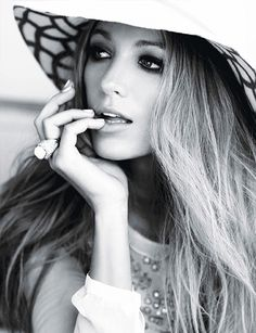 Blake Lively channels Old Hollywood glam for Glamour Magazine, 2011 // photo by…