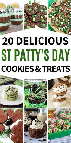 Holiday Treats, Holiday Recipes, Saint Patrick's Day, St Patrick's Day Cookies, Rainbow Donut, St Patrick Day Treats, Cute Kids Crafts, St Patricks Day Food, St Patrick's Day Crafts