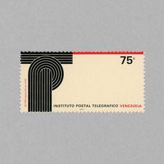 Creation of Postal and Telegraph Institute. Venezuela, 1979. Design: Nedo Mion Ferrario #mnh #mintneverhinged #mnh_ven #postagestamps #estampilla #estampillas #venezuela #nedo