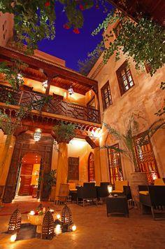 La maison arabe riad h tel marrakech pr paration du for A la maison en arabe