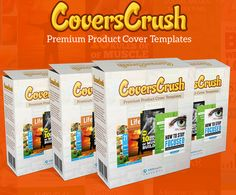 CoversCrush – TOP Premium Product Cover Templates Get to Stunning Ecover Design for Your PDF & Kindle Ebooks for Boost Your Profits