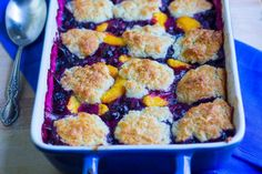 blueberry peach cobble rbaked 1 7-29-16