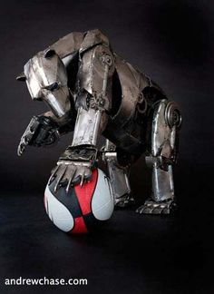 Robot Animal Sculptures, FTW!