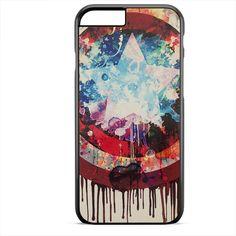 Captain America Shield Art TATUM-2363 Apple Phonecase Cover For Iphone SE Case