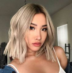 50 latest short haircuts for women 2019 Ash Blonde Balayage Haircuts Latest short Women Latest Short Haircuts, Long Bob Hairstyles, Short Hairstyles For Women, Hairstyle Short, Short Hair Cuts For Women, Long Hair Cuts, Silver Blonde, Ash Blonde, Blonde Hair
