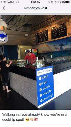 "soulfish poke Walking in to the hip/cool new poke ""bar"" just opened by Mike Malin, of LA restaurant/club fame. Dolce, Ketchup, Geisha House, Les Deux &, even the hot spot steak house, Rare 120, here in the Hard Rock! We are in for some great food!"