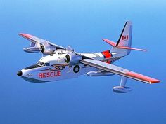 RCAF Grumman Albatross in flight