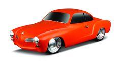 1966 Volkswagen Karmann Ghia Radio Control Vehicle 1:24 Scale - Orange