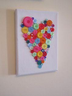 heart canvas.