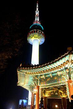 Seoul Tower - Seoul, Korea