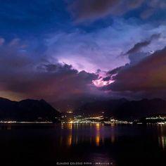 Sul #lagodiseo #inlombardia le ultime stelle salutano il lago e lasciano il posto ad un temporale minaccioso da est. #inlombardia365 #fuoriportainlombardia  #theromanticchoice #visitlakeiseo #lakeiseo #ig_lombardia #italian_places #italian_trips #beautifuldestinations #divinafotografia #igersmood #igglobalclub #top_italia_photo #loves_madeinitaly #awesomepix #awesomedreamplaces #awesomeglobe #awesome_photographer #travelawesome #fantastic_earth #awesome_earthpix #awesomepix #earthofficial…