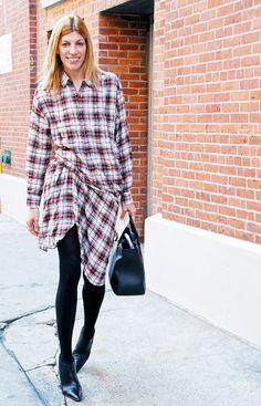 What Fashion Week Street Style Looked Like 5 Years Ago via @WhoWhatWear