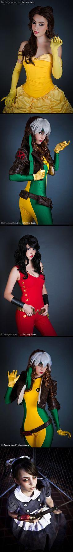 Monika Lee cosplay (Benny Lee Photography)