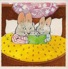 """""""Read to your Bunny"""" by Rosemary Wells"""
