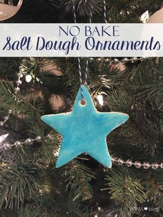 Today is all about ornaments. Ones you've given and received and ones you can make with 3 simple ingredients. A few weeks ago, I shared the ...