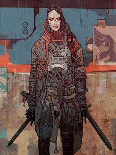 Jakub_Rebelka_Art_Digital_assassin