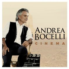 Andrea Bocelli performs brilliantly in his new album, Cinema. Featuring a duet with superstar Ariana Grande, this album is a masterpiece. Songs from movies Moon River, 3 Moon, Andrea Bocelli Albums, Superstar, Wall Of Sound, New Cinema, Cinema 2016, Music Of The Night, Star Wars