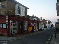 Streets of Seaview, Isle of Wight - Thai food