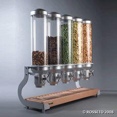 Rosseto Cereal Dispensers - cereal dispenser cereal dispensers dispensing buffet equipment dispenser dispensers