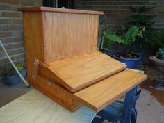 Building A Treadle Chicken Feeder