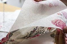 Oua decorate cu tehnica servetelului | Bucatar Maniac Floral Tie, Napkins, Easter, Blog, Handmade, Crafts, Diy, Projects To Try, Fine Dining