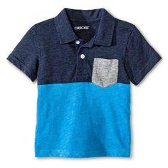 Toddler Boys' Polo Shirt - Blue - Cherokee, Toddler Boy's