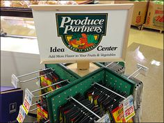 Produce Partners Idea Center – Fixtures Close Up Where The Heart Is, Signage, Retail, Organization, Health, Ideas, Product Display, Getting Organized, Organisation