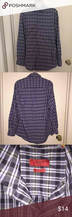 Men's Alfani Shirt Gorgeous Men's Shirt in great condition.  Fitted .  Stretch. Alfani Shirts Casual Button Down Shirts