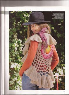 Crochet.es.un.arte!: Chaleco Circular..