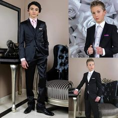 Kids Wedding Suits, Wedding With Kids, Boys Suits, Good Old, Beautiful Boys, Cute Boys, Boy Or Girl, Photo And Video, King