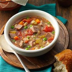 Taste of Home                          Soup Recipes                    -                                                  Choose from a large selection of ingredients when making these irresistible soup recipes, including gazpacho, potato soup, vegetable soup, lentil soup, chicken soup, chowder, turkey soup, broth, bean soup, ham soup, barley soup, meatball soup and more.