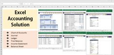 All Excel Accounting and Bookkeeping Solution – Template Learn Accounting, Bookkeeping And Accounting, Accounting Software, Sage Accounting, Accounting Basics, Accounting Principles, Formula Chart, Chart Of Accounts, Excel Hacks
