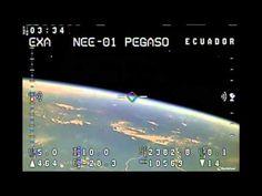 Many UFOs Caught On Live Ecuadorian Space Cam