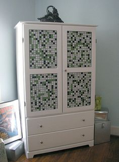 How to Create a Custom Mosaic Armoire