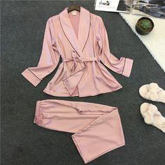 Satin Sleepwear, Satin Pyjama Set, Sleepwear Women, Pajama Set, Satin Pajamas, Nightwear, Pajama Pants, Pyjamas, Sexy Pajamas