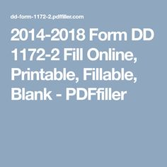 7 Best Form DD 1172-2 in PDF images in 2018 | Pdf, 2 in, Website